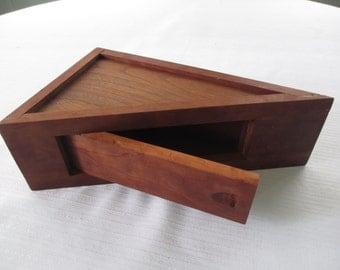Handmade Vintage Wooden Box