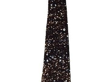 Sequin Necktie BLACK for Kids