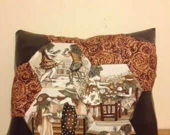 Vintage style cushion