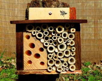 Mason Bee House - Simple