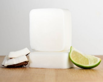 Coconut Lime Soap, Lime coconut Soap, Natural Soap, Handmade Soap