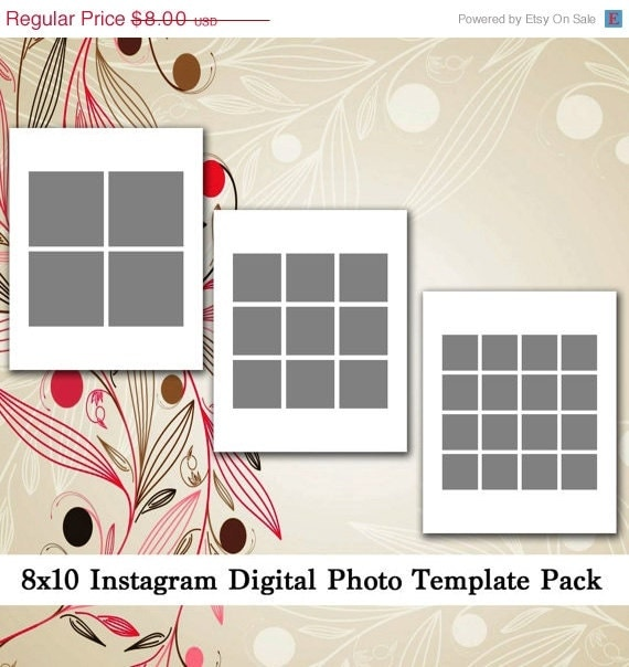 sale 8x10 digital photo template pack by loveurstyledesigns. Black Bedroom Furniture Sets. Home Design Ideas