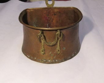 hand made in Turkey vintage copper