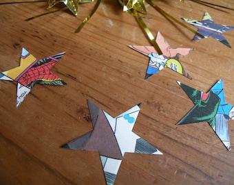 Comic Book Confetti - Star - DC or Marvel