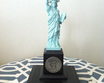 Vintage Statue Of Liberty Statue