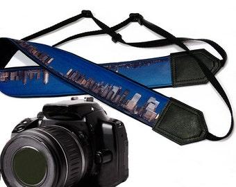 City camera strap.   Photography. DSLR Camera Strap. Camera accessories. Nikon  Canon camera strap.