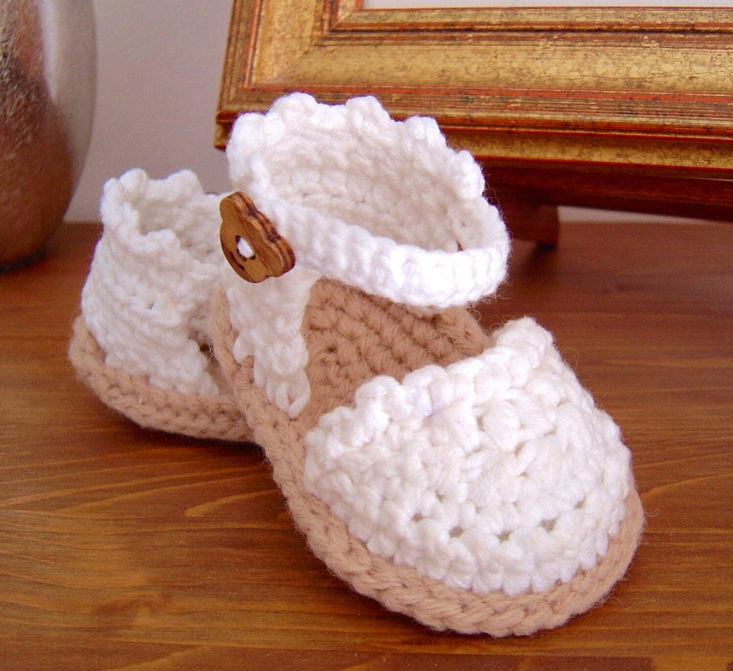 Crochet pattern baby espadrille sandals instant download baby crochet pattern baby espadrille sandals instant download baby shoes pattern photo tutorial bankloansurffo Images