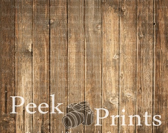 3ft.x3ft. Rough Old Wood Floor Vinyl Photography Backdrop