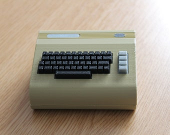3D Printed Commodore 64 inspired Raspberry Pi Case