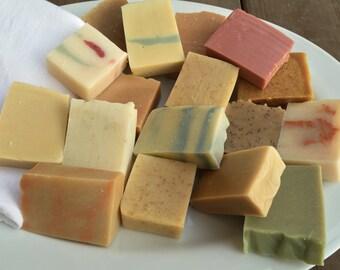 Handmade Soap Sampler Set- 15 Bars