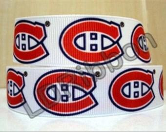 """7/8""""Montreal Inspired Grosgrain Ribbon"""