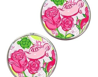 Delta Zeta stud Earrings