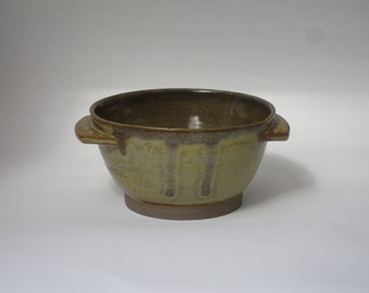 Handmade Stoneware Noodle Bowl