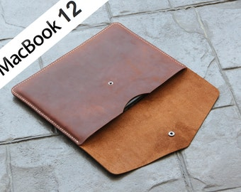"""F07 Macbool 12 sleeve made of Genuine leather,Air 11"""",Air 13"""", Pro 13"""" Retina, Pro 13"""", Pro 15"""", Macbook Air pro Sleeve,iPad Pro, Surface"""