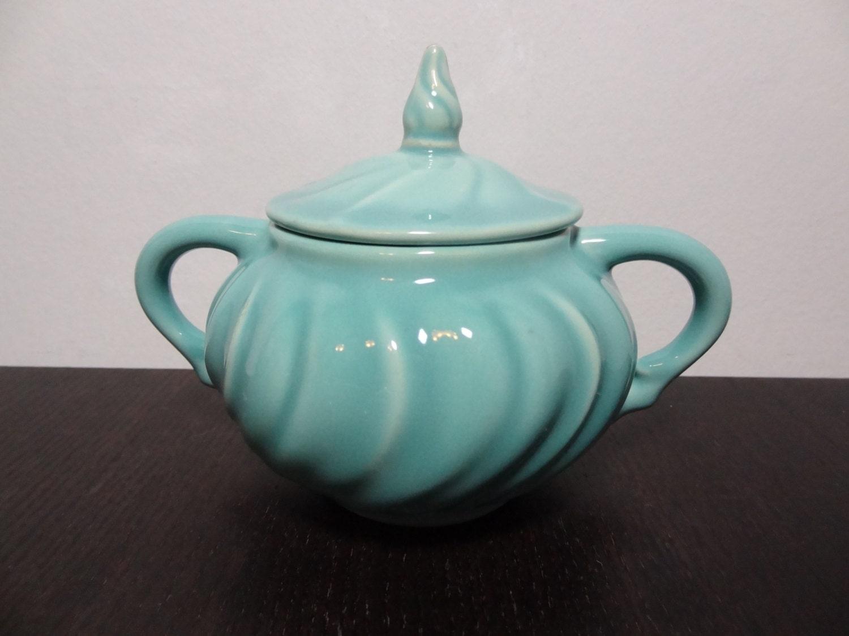 Vintage Franciscan Ware Turquoise Coronado Pattern Ceramic