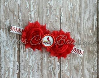 St. Louis Cardinals elastic infant, toddler, or adult headband