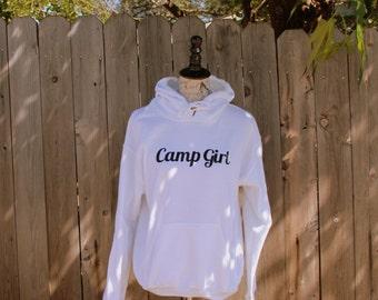 Camp Girl Hooded Sweatshirt