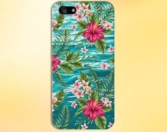 Clear Blue Caribbean Ocean x Tropical Design Case for iPhone 6 6 Plus iPhone 7  Samsung Galaxy s8 edge s6 and Note 5  S8 Plus Phone Case