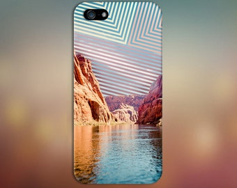 Colorado River x Geometric Sky Design Case for iPhone 6 6 Plus iPhone 7  Samsung Galaxy s8 edge s6 and Note 5  S8 Plus Phone Case