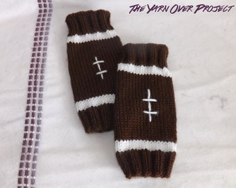 Hand-Knit Baby Leg Warmers - Knitted Leg Warmers - Baby Football Leggings - Knit Leggings for Baby