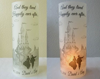 15 Personalized Wedding Centerpiece Luminaries Castle Table Decoration