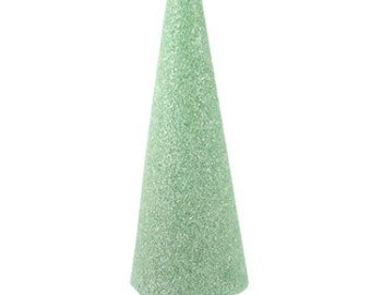 "7 Styrofoam cones 9"" x 4"""