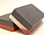 Charcoal & Rose Clay Facial Soap, Detoxifying Face Soap, Clay Soap, Natural Skin Care, Face Cleanser