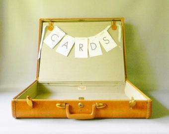 Vintage Samsonite Suitcase/ Wedding Card Holder