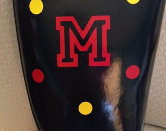Rainboot Decal - Vinyl Rainboot Monogram - Rainboot Bling - Decorated Rainboots