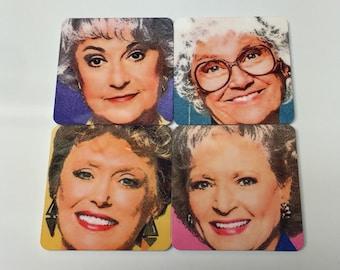 Golden Girls Inspired Magnet Set of 4