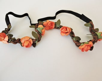 Chic Boho Floral Flower Hairband Headband
