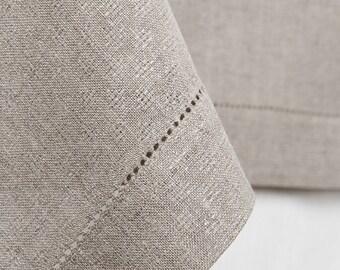 leinen tischl ufer mit spitzen grauen tischl ufer bio. Black Bedroom Furniture Sets. Home Design Ideas