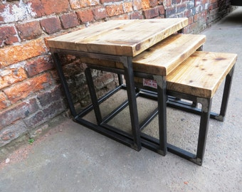 Hand Made Custom Industrial Furniture By Rccfurniture On Etsy