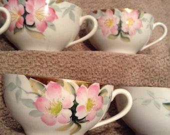 Noritake Azalea Pattern - (6) Six Cups