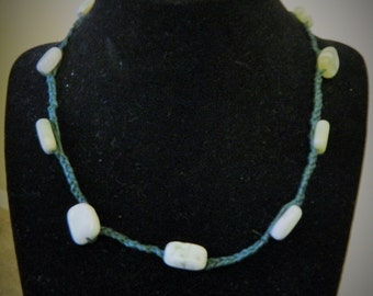 Free Shipping*** Jade Braid Necklace