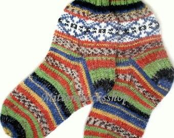 Knitting Patterns Sleeping Socks : Knitted Mittens Socks Gloves Yoga Socks by MittensSocksShop