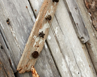 Barnwood Necklace or Scarf Holder