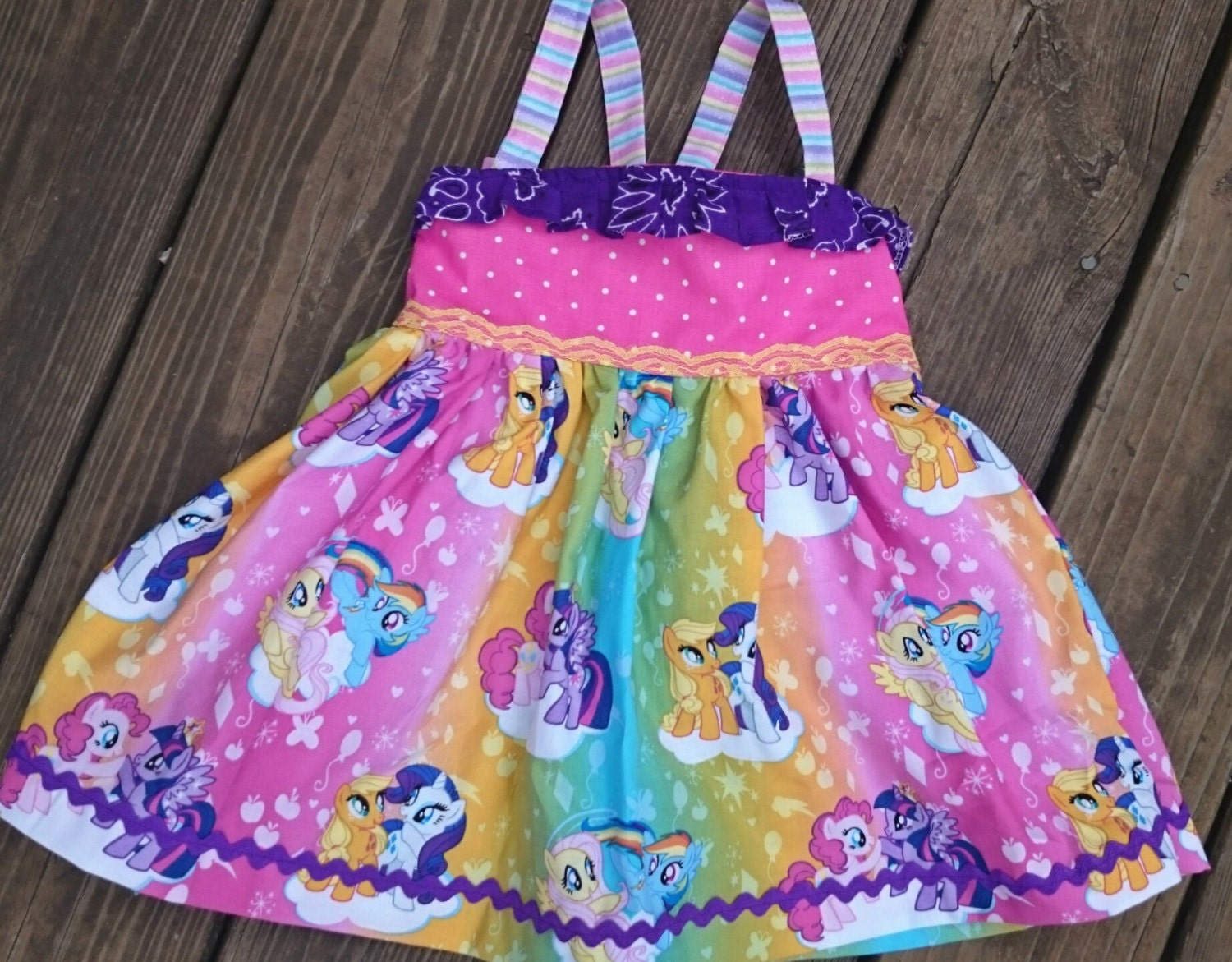 Adorable My Little Pony dress with a sheer skirt overlay with rainbow foil. My Little Pony Girls Flannel Granny Gown Nightgown (Toddler/Little Kid/Big Kid) by My Little Pony. $ - $ $ 16 $ 19 98 Prime. FREE Shipping on eligible orders. Some sizes/colors are Prime eligible. out of 5 stars