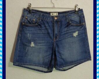 Jeans Shorts Denim Shorts,Li Boyfriend Shorts GINA TRICOT Size 42