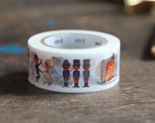 MT Washi Tape Alain Grée Person (MTALAN01) New MT Washi Tape Summer Collection 2015 Artist Series