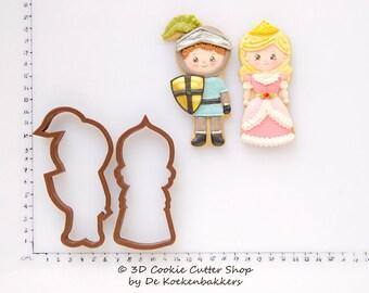 Princess & Knight Cookie Cutter Set