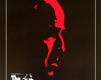 The Godfather Marlon Brando  movie poster Italian art 16 x 20