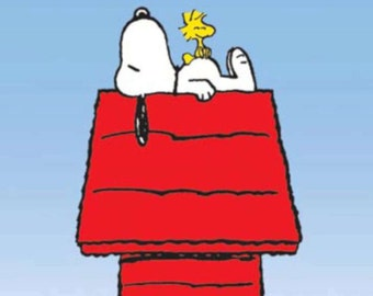 Peanuts Snoopy Woodstock poster 24 x 36