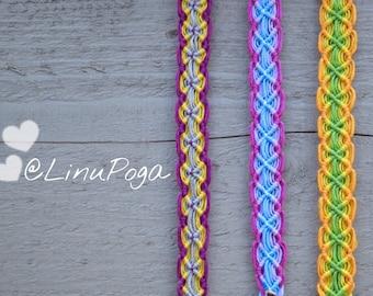Friendship bracelets. Colourful bracelets. Stylish accessories. Handmade bracelets.