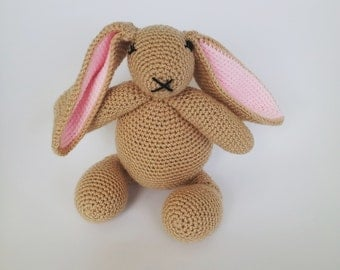Soft Toy Plushie Crochet Rabbit Bunny Hare