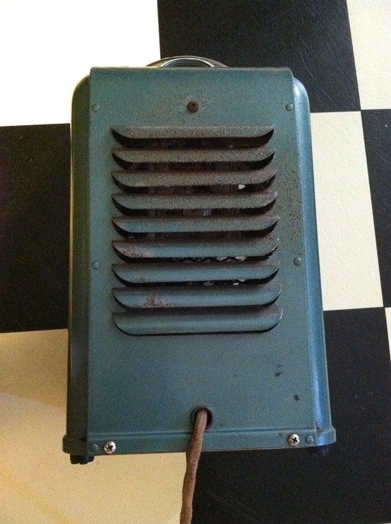 Vintage 1960s electric heater sears kenmore old industrial