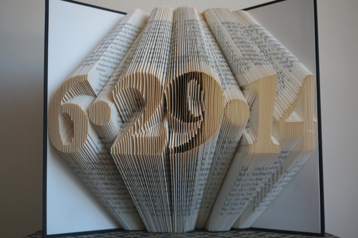 1st anniversary gift book sculpture 1st wedding. Black Bedroom Furniture Sets. Home Design Ideas