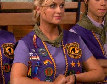 SALE Pawnee Goddesses Badge Iron On Patch