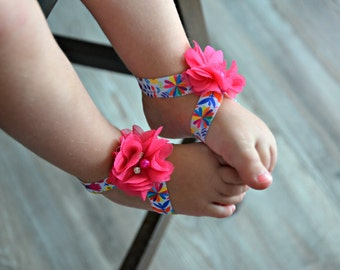 Baby Barefoot Sandals, Toddler Sandals, Infant Sandals, Barefoot Sandals