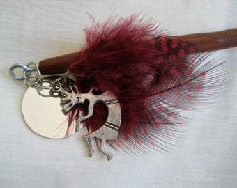 Kokopelli Hair Stick